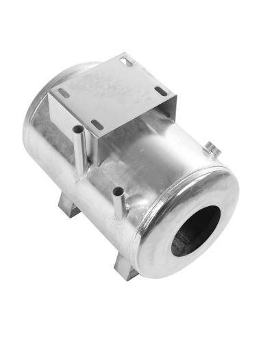 O butelie de vacuum se utilizeaza pe mulgatori si stocheaza aerul produs de pompa de vacuum si il distribuie constant.